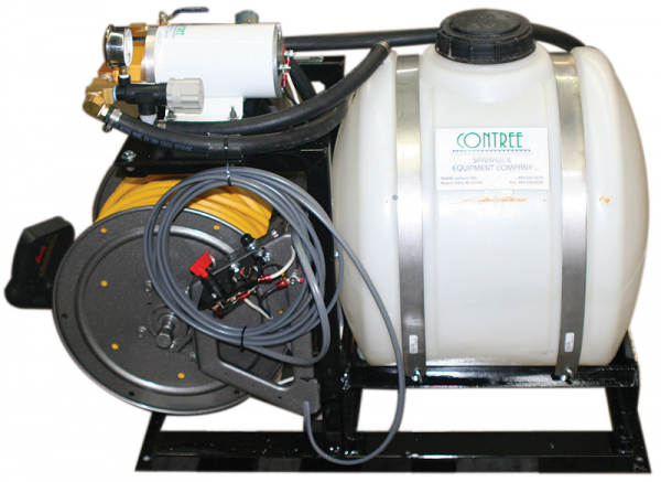 30 Gallon Mid-Battery with Hose Guide