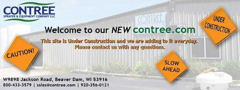 Caution Ahead - Contree Sprayer and Equipment Company LLC