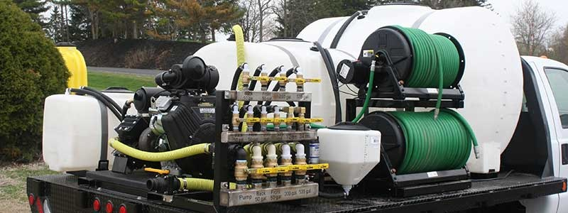 Multi Tank Sprayer Unit