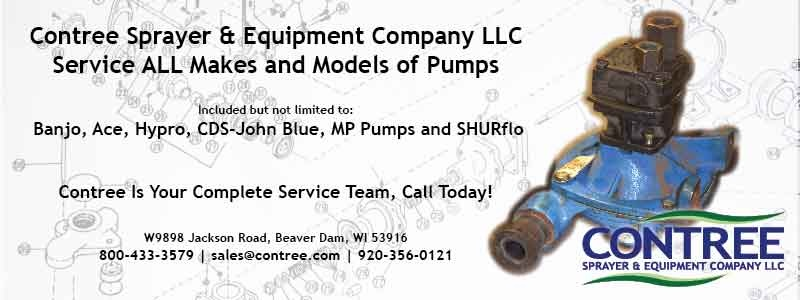 Pump Service - Contree Sprayer and Equipment Company LLC