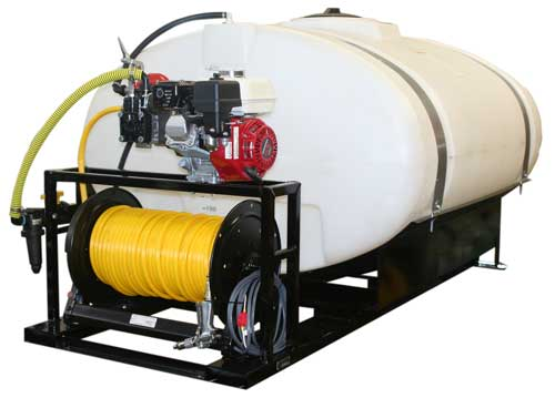 Contree Custom_400 Gallon_Skid Unit Sprayer