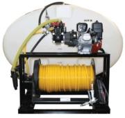 Skid Unit 400 Gallon Elliptical