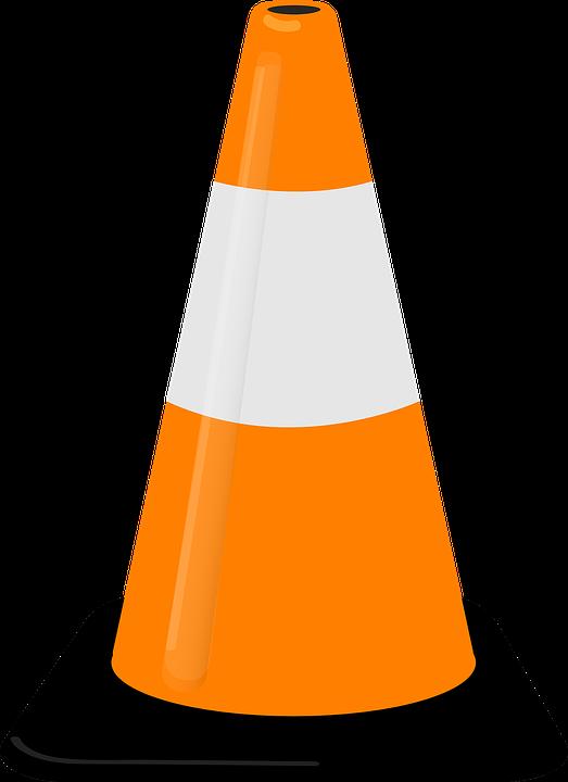 public works cone