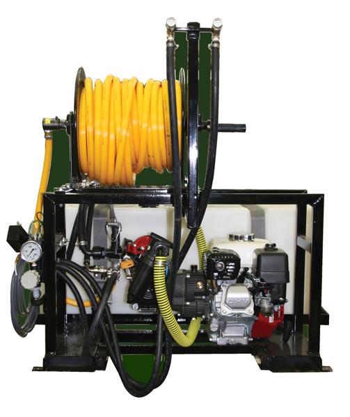 Contree Custom_68 Gallon UTV_De-icer Sprayer