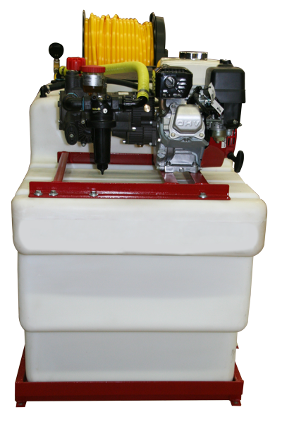 Contree Custom_200 Gallon Space Saver_Red Frame