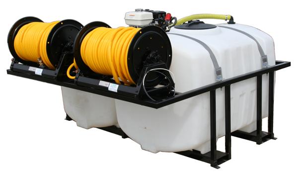 Contree Custom_Dual Tank 200 Gallon_Electric Reels_Curb Side