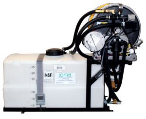 Contree Custom_35 Gallon Pest Sprayer_Electric Reel and Hose Guides