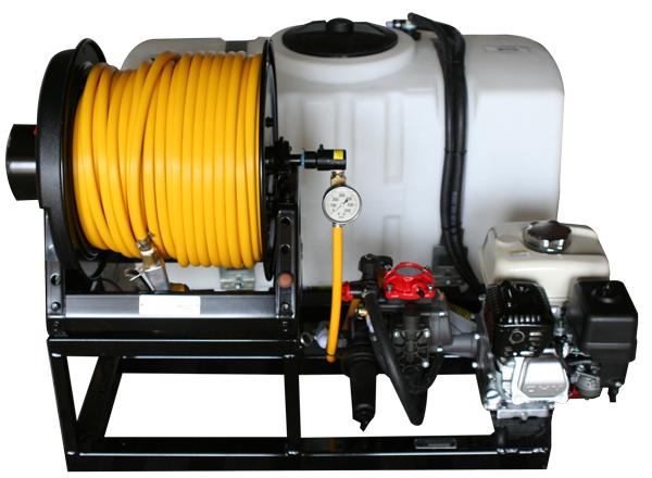 Contree Custom_50 Gallon Pest Sprayer_Electric Reel