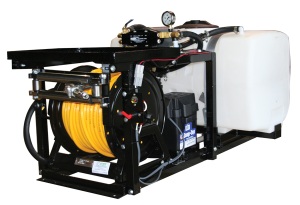 Contree Custom_50 Gallon Pest Sprayer_Electric Reel and Hose Guides