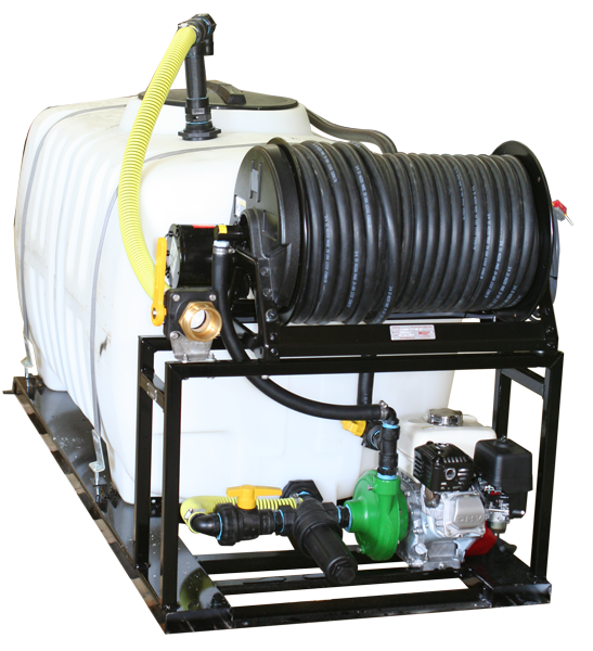 Skid Sprayer_300 Gallon with ACE 660 Pump