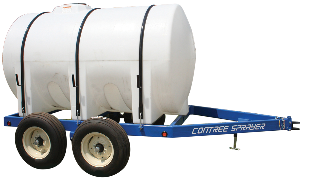 Nurse Trailer_1300 Gallon w/ Custom Painted Frame