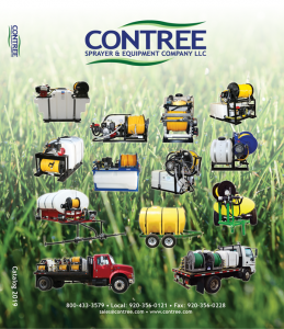 Contree Sprayer and Equipment Catalog 2019 Cover
