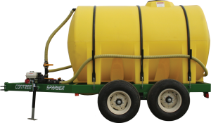 1300 Gallon Nurse Trailer w/ Custom Painted Frame