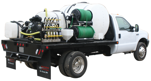 Tree Service Sprayer with Multi Tanks, Reels and Manifold