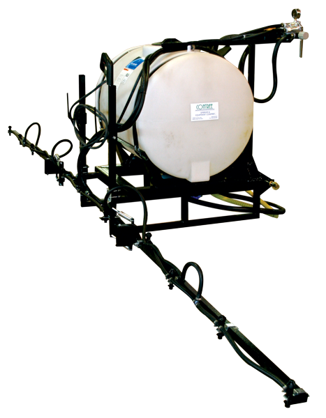 Three Point Sprayer - 110 Gallon Tank with Boom